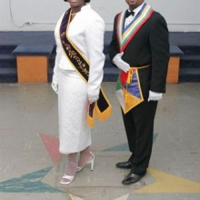WM Maisha Wood and WP Edward Leaks