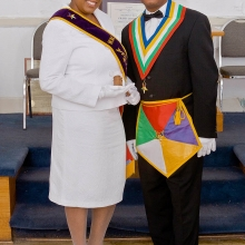 WM Yolanda Sykes and WP C. J. Lee