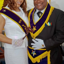 WM Alexis Smith and WP Maurice Gilbert
