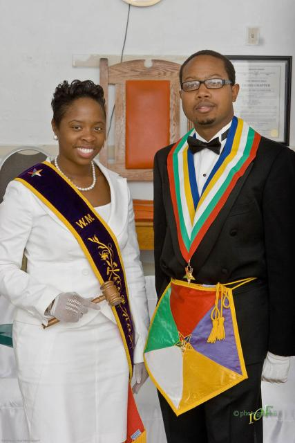 WM Kyra Caldwell and WP Bertram Thomas