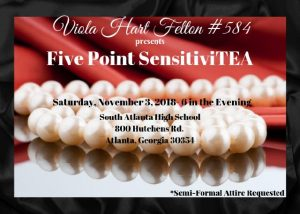 Viola Hart-Felton #584 SensitiviTEA @ South Atlanta High School
